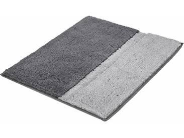 Kleine Wolke Badematte »Life« , Höhe 20 mm, rutschhemmend beschichtet, fußbodenheizungsgeeignet, grau, 20 mm, anthrazit