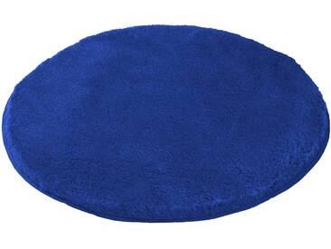 MEUSCH Badematte »Mona« , Höhe 30 mm, rutschhemmend beschichtet, fußbodenheizungsgeeignet, blau, 30 mm, atlantikblau