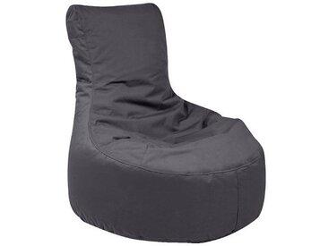 Outdoor-Sitzsack Slope, Plus, anthrazit, schwarz, schwarz