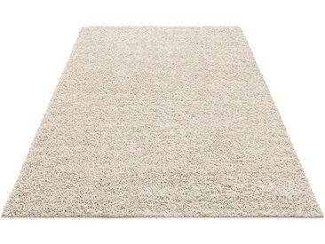 Home affaire Hochflor-Teppich »Shaggy 30«, rechteckig, Höhe 30 mm, natur, natur