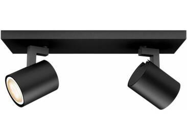 Philips Hue LED Deckenstrahler »Runner«, 2-flammig, Smart Home, schwarz, 2 -flg. /, schwarz