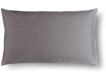 Casa di Bassi Kissenhüllen »in schmaler Form«, ÖkoTex 100 Standard 100, grau, Baumwolle, grau
