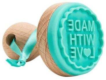 BUTLERS BISCUIT »Keksstempel Made with Love mini«, Ø 4,8 cm, Höhe 6,7 cm