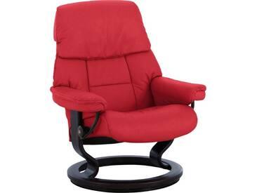 Stressless® Bequemsessel »Ruby« mit Classic Base, Größe L, mit Schlaffunktion, rot, Fuß wengefarben, chilli red
