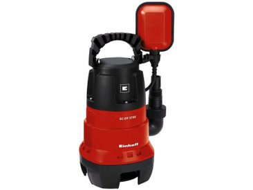 Einhell EINHELL Schmutzwasserpumpe »GC-DP 3730«, 9.000 l/h max. Fördermenge, rot, rot