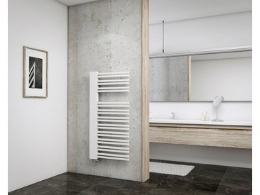 Schulte SCHULTE Heizkörper »Bologna«, 121 x 60 cm, weiß, Links, 60 cm, alpinweiß