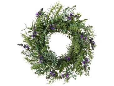 Gasper Kunstpflanze »Lavendelkranz«, Ø: 44 cm, lila, lila