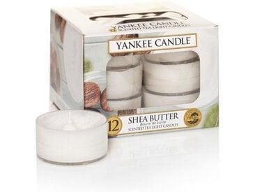 Yankee Candle Duftkerze »Shea Butter 12er Pack Teelichter«
