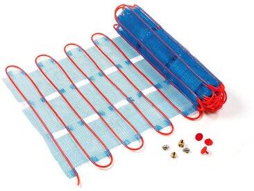 PEROBE Perobe Fußbodenheizung, Heizmatten für Warmwasseranschluss, blau, 1 m², 1 m², blau