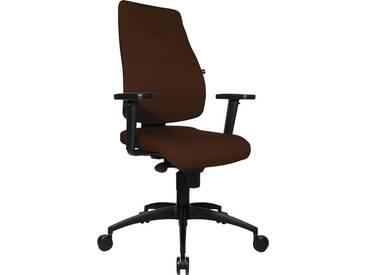 TOPSTAR Bürostuhl »Syncro Soft«, braun, dunkelbraun