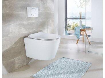 Wand WC »Vigo«, Toilette spülrandlos, inkl. WC-Sitz mit Softclose, weiß