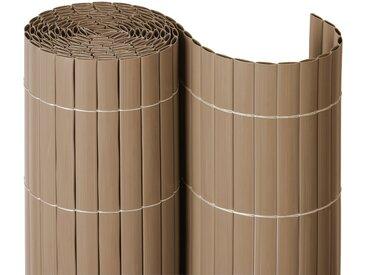 NOOR Balkonsichtschutz BxH: 3x0,9 Meter, natur, 300 cm, natur
