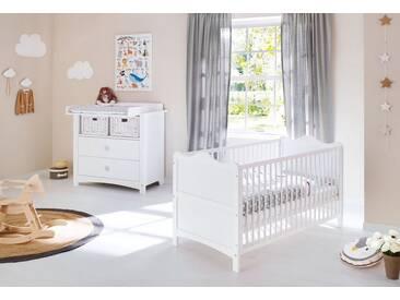 Pinolino® Pinolino Babyzimmer Set (2-tlg) Sparset »Florentina« breit, weiß, weiß