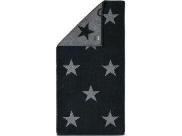 Cawö Handtücher »Stars Big«, mit Wendeseite, grau, anthrazit