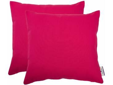Tom Tailor Kissenhülle »Dove«, rosa, Baumwolle, pink