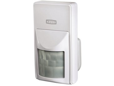 Xavax Bewegungsmelder für Funk Alarmanlage Starter-Set FeelSafe »Sensor löst Alarm aus (120 dB)«, weiß, Weiß