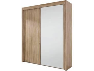 rauch PACK´S Schwebetürenschrank »Imperial«, natur, Mit 1 Spiegel, mit Aufbauservice, mit Aufbauservice, Breite 181 cm, Höhe 223 cm