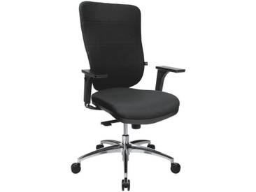 TOPSTAR Bürostuhl ohne Armlehnen »Soft Pro 100«, schwarz, schwarz