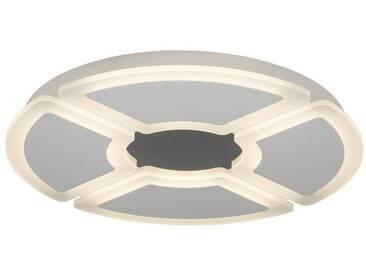 AEG Orv LED Deckenleuchte 60cm weiß/chrom, weiß, weiß/chrom