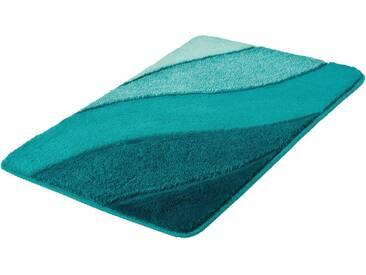 Kleine Wolke Badematte »Serenade« , Höhe 20 mm, rutschhemmend beschichtet, fußbodenheizungsgeeignet, grün, 20 mm, türkis