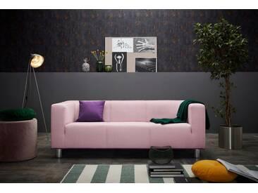 INOSIGN 3-Sitzer »Lucas«, rosa, rosé