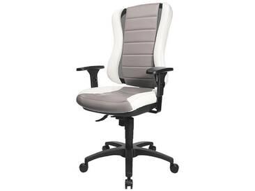 TOPSTAR Bürostuhl ohne Armlehnen »Headpoint RS«, bunt, weiß/grau