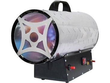 ROWI Gas-Heizgebläse »HGH 30000/5 Inox«, 30 kW, silberfarben, silberfarben