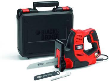 Black + Decker BLACK + DECKER Universalsäge »500W AutoSelect® SCORPION® RS890K«, orange, orange