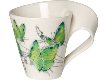 Villeroy & Boch Kaffeebecher »NewWave Caffè Deep green hairstreak«, grün, 300,00 ml, grün