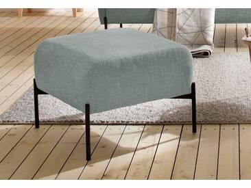 andas Hocker »Bold«, edles, skandinavisches Design, mit Stahlbeinen, grün, grün