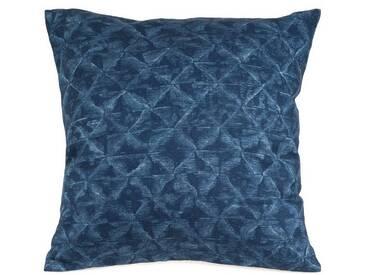Casa di Bassi Kissenhüllen »FISH PATTERN«, ÖkoTex 100 Standard 100, blau, Baumwolle, blau