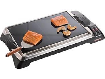 Gastroback Tischgrill Teppanyaki Glas-Grill Advanced, 1280 W, 1280 Watt, schwarz