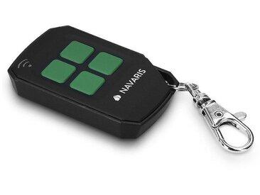 Navaris Fernbedienung (433 MHz Transmitter Funk Garagentor Funkfernbedienung Handsender - auch für Funksteckdosen - Ersatz Garagentoröffner), schwarz