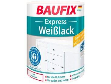 Baufix BAUFIX Acryl Weißlack »Express«, seidenmatt, 1 l, weiß, 1 l, weiß