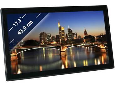 Braun Phototechnik Digitaler Bilderrahmen »Braun DigiFrame 1730 43,9cm (17,3 )«, schwarz, black