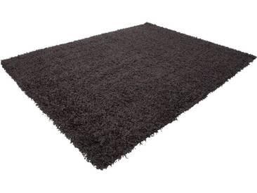 LALEE Hochflor-Teppich »Relax 150«, rechteckig, Höhe 50 mm, grau, 50 mm, grafit