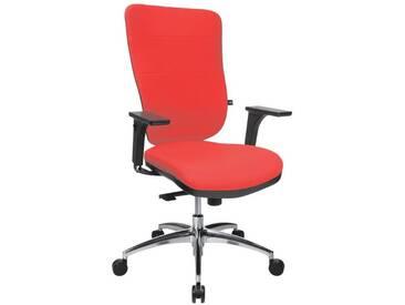 TOPSTAR Bürostuhl ohne Armlehnen »Soft Pro 100«, rot, rot
