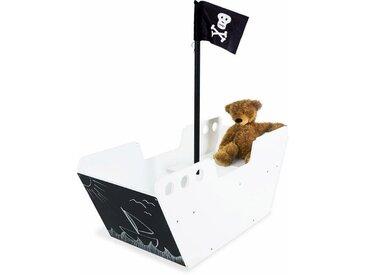 Pinolino® Pinolino Kindersitzgarnitur, Tafel und Aufbewahrungskiste »Spielboot Hoppetosse«