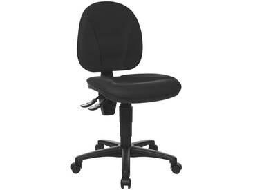 TOPSTAR Bürostuhl ohne Armlehnen »Point 10«, schwarz, schwarz