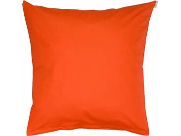 Bassetti Kissenbezug »Tinta Uni«, mit separat erhältlichem Bettbezug, orange, Satin, orange