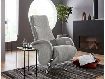 W.SCHILLIG Relaxsessel »jupiter« mit Sternfuß, grau, steel S22