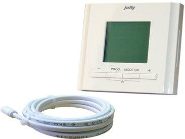 bella jolly JOLLYTHERM Thermostat »Elektroheat«, für Fußbodenheizungen, comfort, weiß, weiß