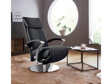 W.SCHILLIG Relaxsessel »kronos« mit Drehteller, schwarz, schwarz Z59