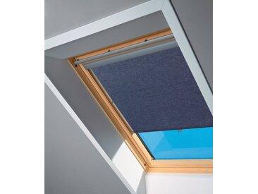 VELUX Sichtschutzrollo , für Fenstergröße 102 und 104, blau, blau, 102/104, blau