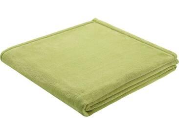 BIEDERLACK Wohndecke »King Fleece«, leichte Qualität, grün, Kunstfaser, grün