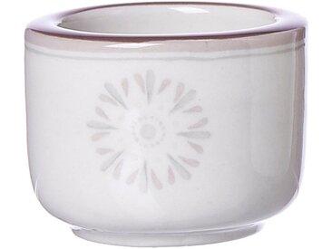 Ritzenhoff & Breker Teelichthalter »Valencia«, weiß, H: 4 cm, weiß