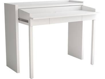 Woodman Schreibtisch »Jens« im extravaganten Design, weiß, weiß