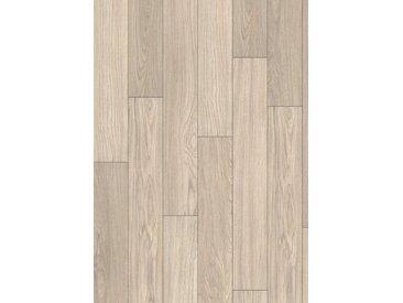 PARADOR Laminat »Basic 400 - Teak gebleicht«, 1285 x 194 mm, Stärke: 8 mm, grau, grau