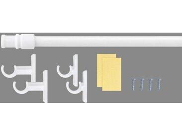 Good Life Scheibenstange »Bistro«, Ø 12 mm, 1-läufig, ausziehbar, weiß, 1-läufig, weiß