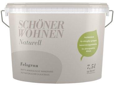 SCHÖNER WOHNEN-Kollektion SCHÖNER WOHNEN FARBE Wand- und Deckenfarbe »Naturell«, 7,5 l, grau, Felsgrau